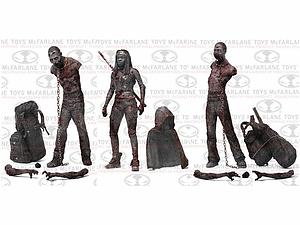 "The Walking Dead 5"" TV Series 3 - Bloody Black & White 3-Pack Michonne & Pet Zombies"