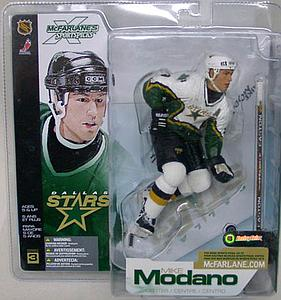 NHL Sportspicks Series 3 Mike Modano (Dallas Stars) White Jersey Variant