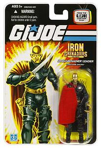 "G.I. Joe 25th Anniversary 3 3/4"" Wave 5: Iron Grenadier Destro"