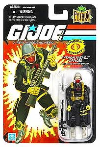 "G.I. Joe 25th Anniversary 3 3/4"" Wave 8: Cobra Officer (Python Patrol)"