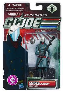 "G.I. Joe 30th Anniversary 3 3/4"" 2012 Wave 2: Cobra Commander (Renegades)"