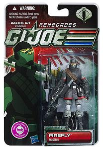 "G.I. Joe 30th Anniversary 3 3/4"" 2012 Wave 2: Firefly (Renegades)"