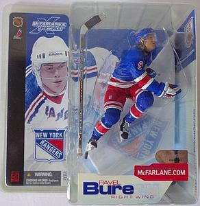NHL Sportspicks Series 3 Pavel Bure (New York Rangers) Blue Jersey Variant