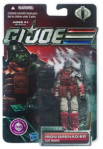 "G.I. Joe 30th Anniversary 3 3/4"" 2012 Wave 1: Iron Grenadier"