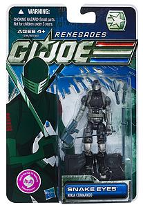 "G.I. Joe 30th Anniversary 3 3/4"" 2012 Wave 2: Snake Eyes (Renegades)"