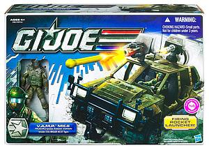 "G.I. Joe 30th Anniversary 3 3/4"" Vehicle: G.I. Joe V.A.M.P. MKII"