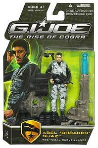 "G.I. Joe The Rise of Cobra 3 3/4"" Wave 1: Abel ""Breaker"" Shaz"