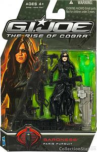 "G.I. Joe The Rise of Cobra 3 3/4"" Wave 3: Baroness Paris Pursuit"