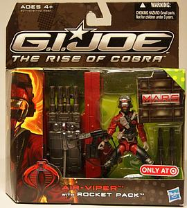 "G.I. Joe The Rise of Cobra 3 3/4"" Exclusive: Air-Viper with Rocket"