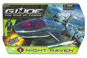 "G.I. Joe The Rise of Cobra 3 3/4"" Vehicle: Night Raven"
