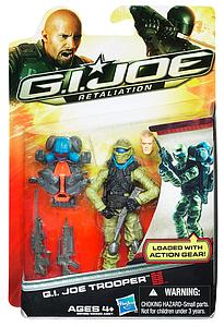 "G.I. Joe Retaliation 3 3/4"" Wave 1: G.I. Joe Trooper"