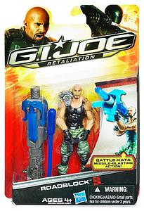 "G.I. Joe Retaliation 3 3/4"" Wave 1: Roadblock The Rock"