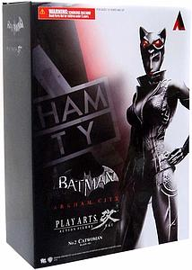 "Play Arts KAI Batman Arkham City Kai 8"" Series 1: Catwoman"