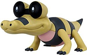 Pokemon Black White Series 3 Basic Figure: Sandile