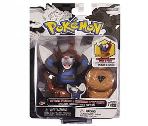 Pokemon Black White Series 2 Attack Figure: Drilbur