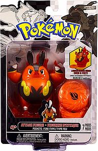 Pokemon Black & White Series 2 Attack Figure: Pignite
