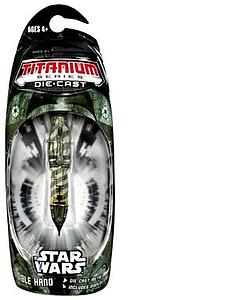 Star Wars Titanium Series Mini Diecast Vehicles: Invisible Hand Ship