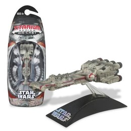Star Wars Titanium Series Mini Diecast Vehicles: Rebel Blockade Runner