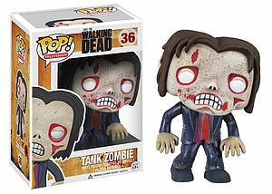 Pop! Television The Walking Dead Vinyl Figure Tank Zombie #36 (Vaulted)