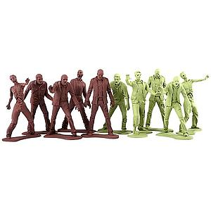 The Walking Dead Zombie Army Men Mini Figure 10-Pack
