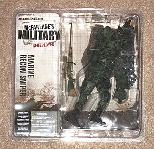 Military Redeployed Series 1: Marine Recon Sniper