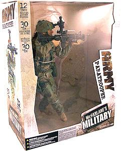 "Military Series 1 12"": Army Paratrooper"