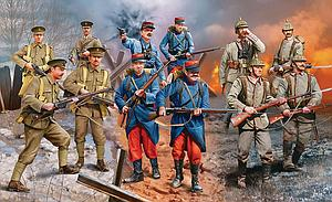 WWI German, French, British Infantry Set (80-2451)