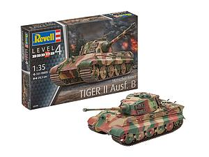 Revell Germany 1:35 Scale Model Kit Tiger II Ausf. B Henschel Turret (03249)