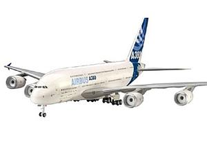 REVELL GERMANY 1:144 Scale Airplane Plastic Model Kit Airbus A380 New Livery (04218)