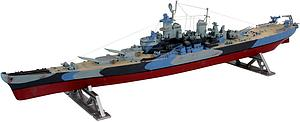 REVELL GERMANY 1:535 Scale Ship Plastic Model Kit Battleship U.S.S. Missouri (05092)