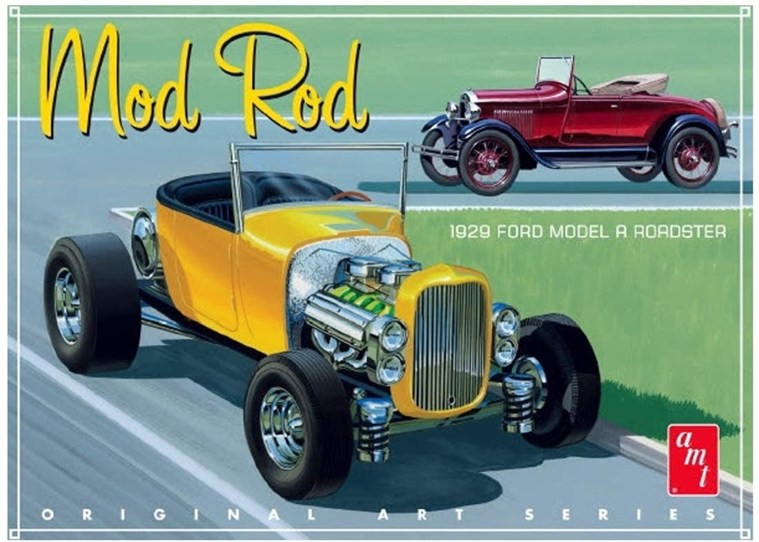 1929 Ford Model A Roadster Mod Rod (AMT1000)