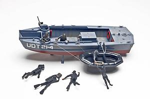 U.D.T. Boat with Frogmen (85-0313)