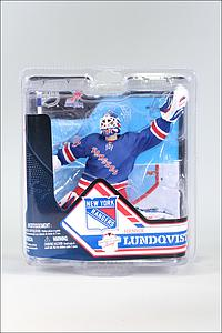 NHL Sportspicks Series 32 Henrik Lundqvist (New York Rangers) Blue Jersey Collector Level Bronze