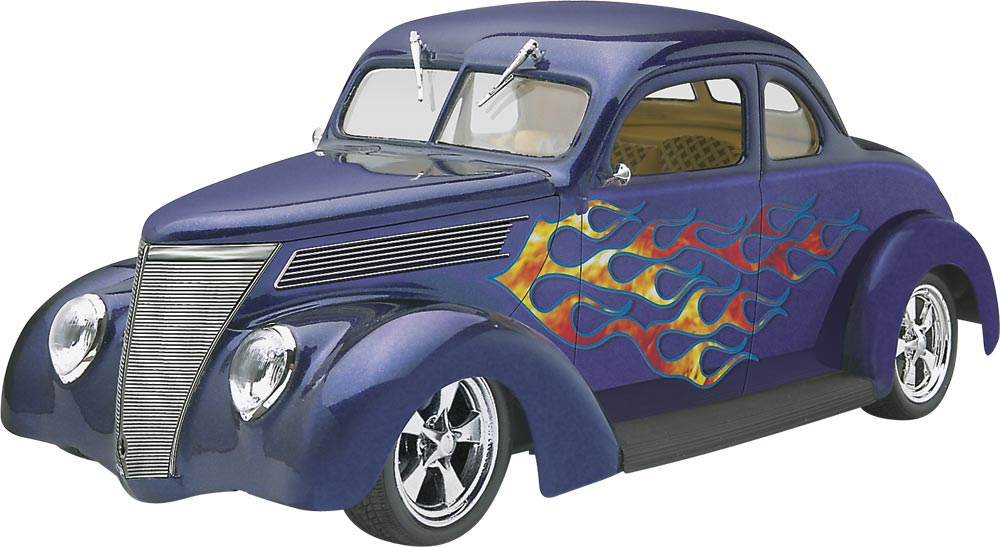 1/24 '37 Ford Coupe Street Rod (85-4097)