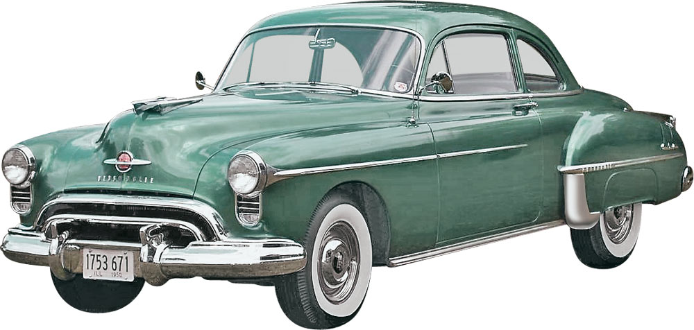 '50 Oldsmobile Club Coupe (85-4254)