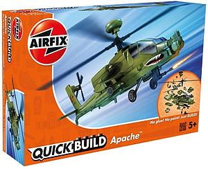AIRFIX Plastic Model Kit Quick Build Apache (J6004)