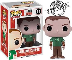 Pop! Television The Big Bang Theory Vinyl Figure Sheldon Cooper #11 (Retired)
