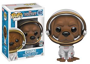 Pop! Marvel Guardians of the Galaxy Vinyl Bobble-Head Cosmo #167 Specialty Series Exclusive