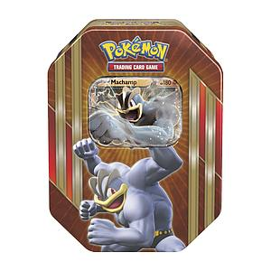 Pokemon Triple Power Tin: Machamp-EX