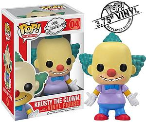 Pop! Television The Simpsons Vinyl Figure Krusty the Clown #04 (Vaulted)