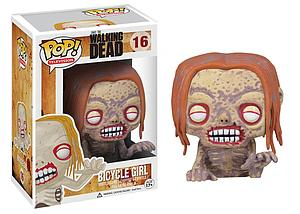 Pop! Television The Walking Dead Vinyl Figure Bicycle Girl #16 (Vaulted)