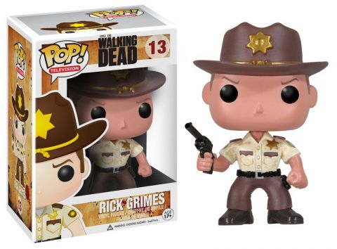 Pop! Television The Walking Dead Vinyl Figures Rick Grimes #13