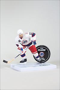 NHL Sportspicks Series 32 Teemu Selanne (Winnipeg Jets) White Jersey Exclusive