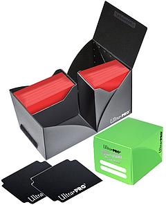 Deck Box Pro-Dual 120ct: Light Green