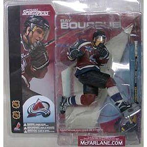 NHL Sportspicks Series 1 Ray Bourque (Colorado Avalanche) Maroon Jersey