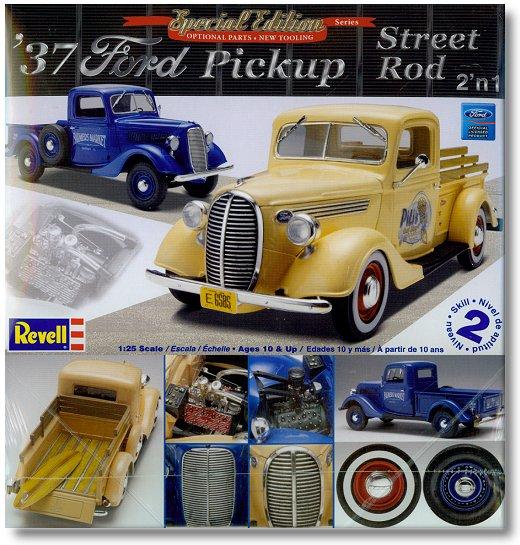 Classic Cruiser Model Kits 1 25 Scale 37 Ford Pickup