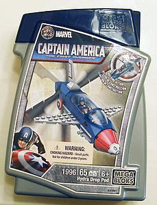 Mega Bloks Marvel: Captain America The First Avenger - Hydra Drop Pod 1996