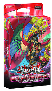 YuGiOh Trading Card Game Structure Deck: Onslaught of the Fire Kings