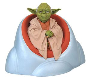 Star Wars Yoda Bust Bank