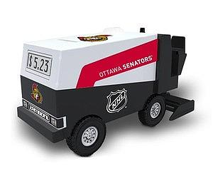 Top Dog Collectibles 1/24 Scale Zamboni Bank Ottawa Senators